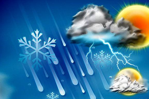 هوای استان خوزستان برفی اعلام شد