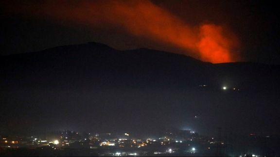 حمله دیگر اسرائیل به سوریه / استان حماه توسط اسرائیل هدف قرار داده شد