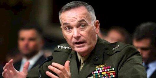 رییس ستاد ارتش آمریکا: تا پایان کامل جنگ در افغانستان  می مانیم