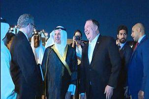 پمپئو در اولین مقصد تور خاورمیانه ای خود وارد کویت شد