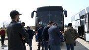 چهارمین گروه ایرانیان مقیم باکو از طریق مرز زمینی وارد ایران شدند