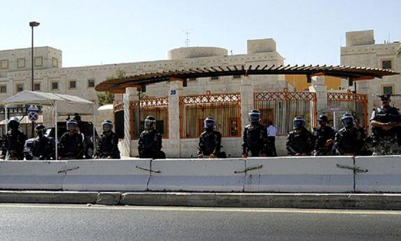 سفارت آمریکا در اردن تحت تدابیر شدید امنیتی قرار گرفت