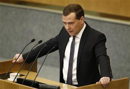 دیمیتری مدودف نخستوزیر روسیه از سمت خود استعفا کرد