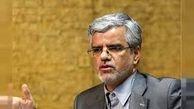 توئیت محمود صادقی در  صفحه شخصی خود در واکنش به استعفای ظریف