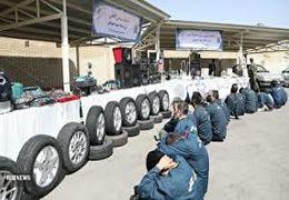 بازداشت ۴ باند سرقت خودرو و منزل  در تهران