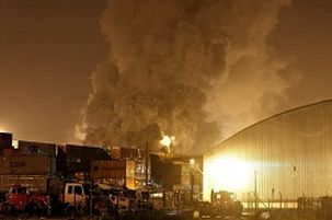 یک خط لوله نفت در مکزیک منفجر شد