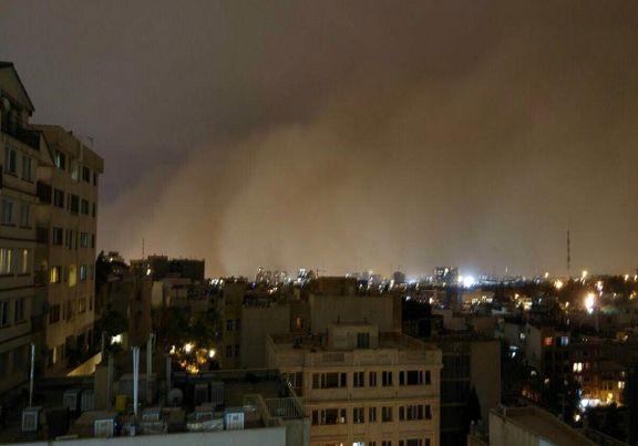 هشدار به مردم تهران/وزش باد و طوفان شدید تا 85 کیلومتر در ساعت سرعت دارد